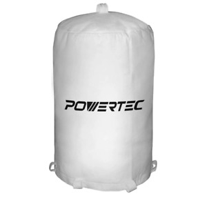 20 In X 31 In Dust Collector Filter Bag Reusable Washable Power Tool White New
