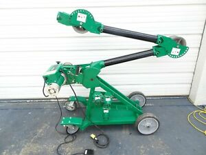Greenlee Ut8 10 Ultra Tugger Cable Puller 10000 Lbs Cap With Mobile Versi Boom