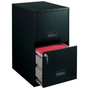 Filing Cabinet 2 Drawer Steel File Cabinet Lock Home Office Durable Heavy Duty