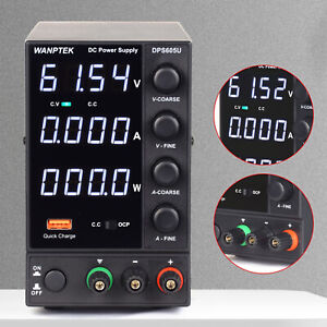 Us Dc Power Supply Bench Power Supply 0 60 V 0 5 A Led Variable Power Supply