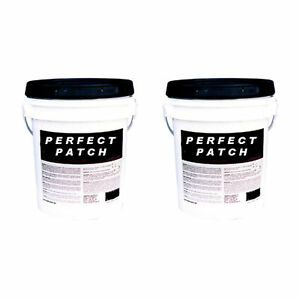 Perfect Patch Concrete Epoxy Patching Repair Kit 5 Gallon Buckets 2 Pack