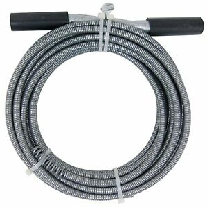 50 Pipe Drain Auger Snake Clog Remover