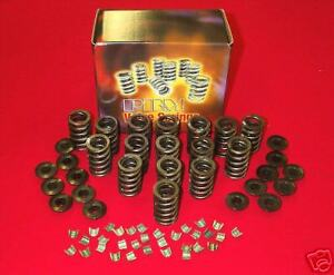Sb Chevy 600 Max Lift Valve Springs 1 260 Od Retainers Locks Kit 3200k
