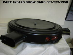 59 60 61 348 Chevrolet Impala 3x2 Tri Power Air Cleaner Made In The U S A