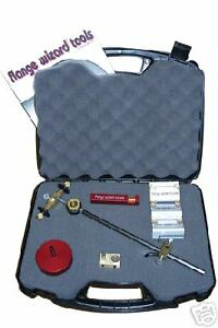 Flange Wizard 8910 Burning Guide Kit W Case 4 Pipe