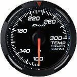 Defi White Racer Temperature Meter Gauge F White Df06703