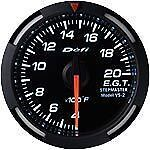 Defi White Racer Exhaust Gas Temperature Egt Meter Gauge F White Df06803