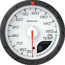 Defi Advance Cr Oil Temp Gauge C White 60mm 9101 Sti