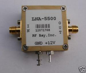 5000 6000mhz Low Noise Amplifier Lna 5500 New Sma