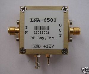 5800 6500mhz Low Noise Amplifier Lna 6500 New Sma