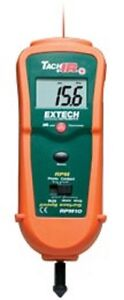 Rpm10 Photo contact Tachometer W Infrared Thermometer