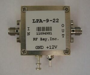 50mhz 9ghz Wideband Rf Amplifier Lpa 9 22 New Sma