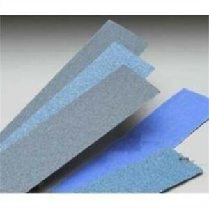 Bluemag Body File Sanding Sheets Norgrip Vac 80 Grit 2 3 4 X 16 Nor23617