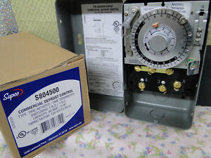 Refrigeration Defrost Timer Control 120 Vac s804500