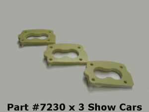 58 59 60 61 348 409 Chevy Impala 3x2 Tri Power Phenolic Spacer Rochester 2g 2gc