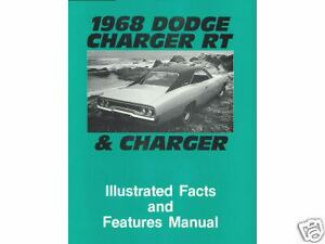 1968 68 Dodge Charger rt Illustrated Facts