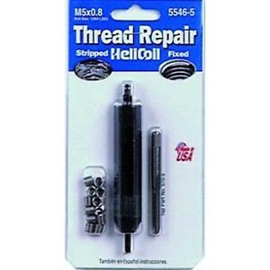 Helicoil 5546 5 Thread Repair Kit M5 X 8in