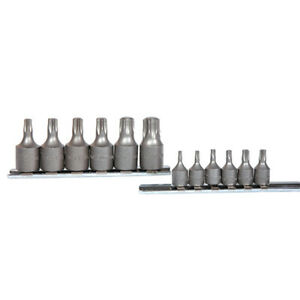 K Tool 22801 12pc Chrome Vanadium Torx Socket Set