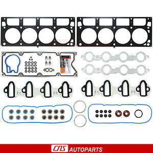 Mls Head Gasket Set Rtv Silicone For 04 07 Gm 364 Cadillac Chevy Gmc Hummer 6 0l