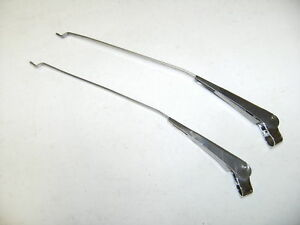 1954 1955 1956 1957 1958 1959 Chevy Gmc Truck Wiper Arms Pair New Pickup