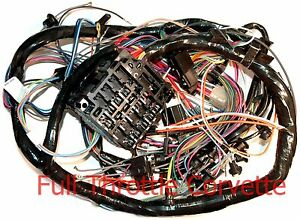 1974 Corvette Dash Wiring Harness With A C New