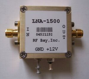 10 1500mhz 26db Gain Low Noise Amplifier Lna 1500 Sma