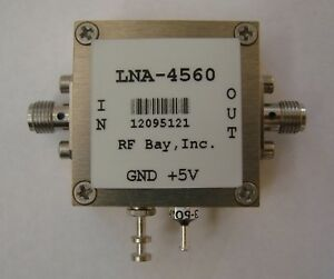 4500 6000mhz 1 1db Nf Low Noise Amplifier Lna 4560 sma