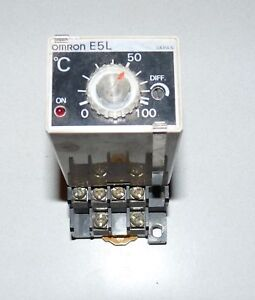 Omron E5l ax Manual Temperature Controller Thermostat