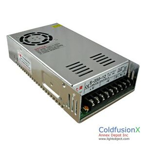 Dc 12v 29a Switching Power Supply Good For Cnc Stepping Motor And Ham Radio