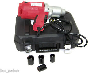 1 2 Drive Electric Impact Wrench With Sockets