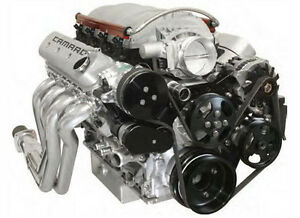 Chevy With Power Steering Black Hardcoat Ls7 Front Runner Engine Drive System