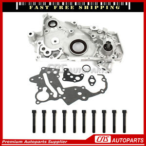 Fits 2 0l Mitsubishi Eagle Talon Hyundai Sonata Turbo Dohc 16v Oil Pump 4g63