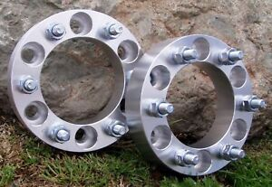 Fit Toyota 6x5 5 Wheel Adapters Spacers 1 25 2pcs 6 Lug
