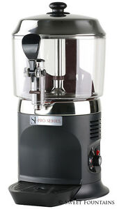 Commercial Drinking Chocolate Machine Hot Beverage Shot Dispenser Black 5l