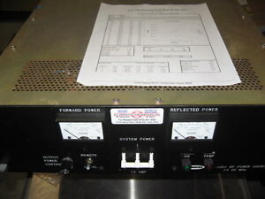 Comdel Cps 1001 13 Rf Generator 13 56 Mhz 3 Phase Am 762 Cps 1001
