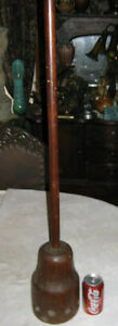 Antique Country Primitive Wood Butter Churn Paddle Stick Spoon Plunger Art Tool