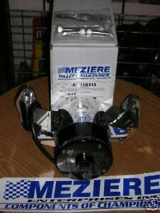 Meziere Wp101s El Water Pump Sbc Black 100 Series