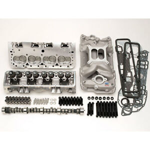 Edelbrock 2098 Rpm Power Package Top End Kit 1957 86 Small Block Chevy 327 350