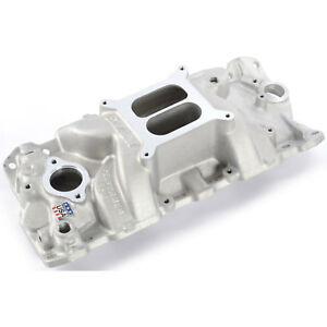Edelbrock 7101 Performer Rpm Intake Manifold 1955 86 Small Block Chevy 262 400