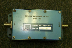 Spectracom 8140t Frequency Distribution Line Tap