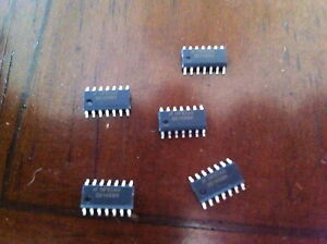Ds1488m Nsc Integrated Circuit Lot Of 5 Pieces mb