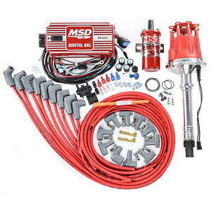 Msd Ignition 85551k Ignition Kit Chevy V8 Includes