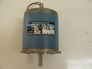 Superior Electric Slo Syn Stepping Motor4 0 Dc V 4 0a 200 Steps rev
