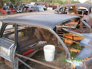 1961 61 Chevrolet Chevy Impala Belair Biscayne Custom Roof Panel Cool Rear Visor
