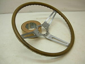 1969 75 Buick Chevy Olds Pontiac Gm Cushion Grip Steering Wheel Celery neutral