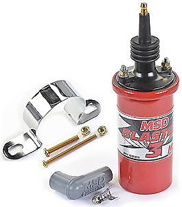 Msd Ignition 8223k Red Blaster 3 Coil Bracket Kit