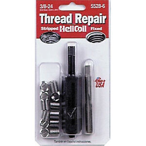 Helicoil 5528 6 Thread Repair Kit 3 8 24in
