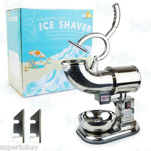 Wyzworks Ice Shaver Machine Extra Blades Sno Snow Cone Maker Shaved Icee Crusher
