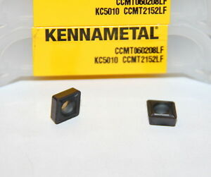 Ccmt 21 52 2152 Lf Kc5010 Kennametal 10 Inserts Factory Packs