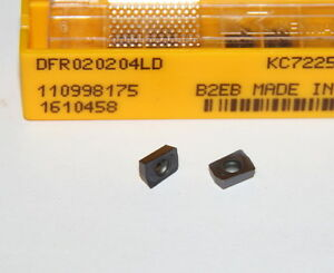 Dfr 020204ld Kc7225 Kennametal 10 Inserts Factory Pack